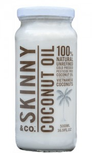 Skinny Coconut Oil Jar